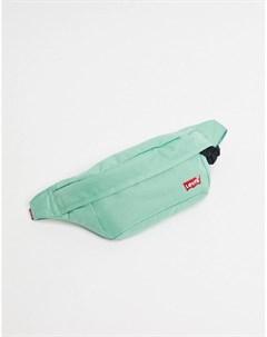 Зеленая сумка кошелек на пояс Levi's®