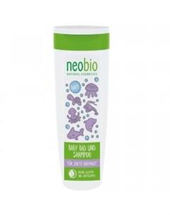 Детский шампунь гель для волос и тела 250 мл Neobio