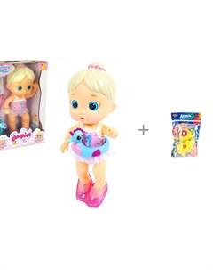 Bloopies Кукла плавающая Mimi и Yako МиниМания игрушки брызгалки в ванну Н85569 Imc toys