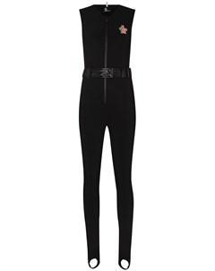 Лыжный костюм с нашивкой логотипом Moncler grenoble