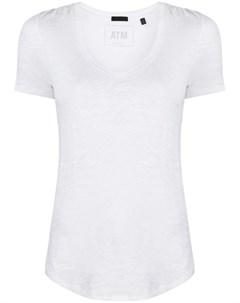 Приталенная футболка с короткими рукавами Atm anthony thomas melillo