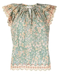Блузка Elm с цветочным принтом Ulla johnson