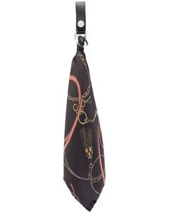 Брелок в виде галстука с принтом Amiri