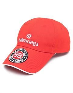Бейсболка Soccer с вышивкой Balenciaga