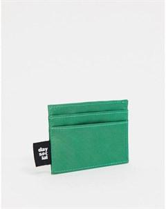 Зеленая нейлоновая кредитница ASOS Daysocial Asos design