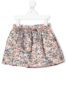 Присборенная юбка с цветочным узором Hucklebones london