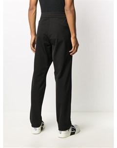 Спортивные брюки Athletic прямого кроя Moncler grenoble