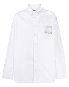Рубашка с фотопринтом Raf simons
