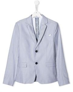 Пиджак с металлическим логотипом Boss kidswear