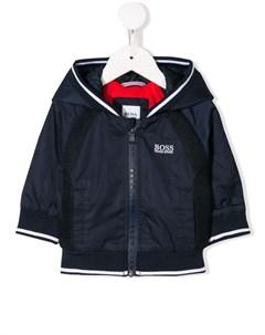 Дождевик с капюшоном Boss kidswear