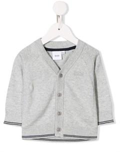 Кардиган с вышитым логотипом Boss kidswear
