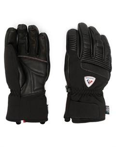 Перчатки с нашивкой логотипом Rossignol