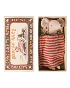 Мягкая игрушка Мышка старшая сестра в коробке 16 0732 01 Maileg