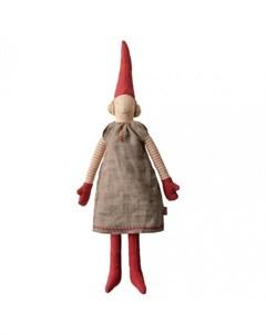 Мягкая игрушка Гном Пикси 1 Мини девочка Maileg