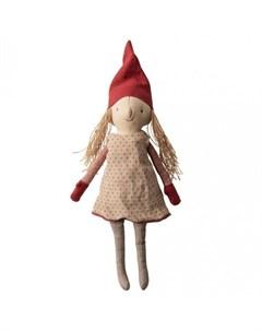 Мягкая игрушка Зимние друзья Гном Пикси девочка Maileg