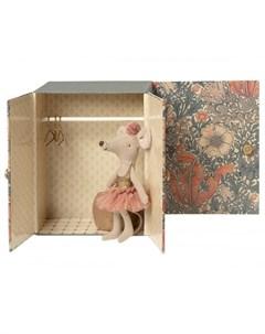 Мягкая игрушка Балетная комната c мышкой старшей сестрой Maileg