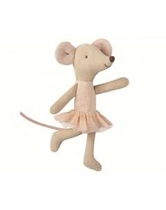 Мягкая игрушка Мышка младшая сестра Балерина 16 8722 00 Maileg