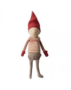 Мягкая игрушка Зимние друзья Гном Пикси мальчик Maileg