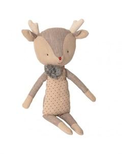 Мягкая игрушка Зимние друзья Олененок девочка 1 Maileg