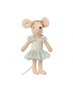 Мягкая игрушка Мышка старшая сестра Балерина Лебединое озеро 13 см Maileg