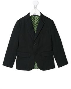 Однобортный пиджак строгого кроя Boss kidswear