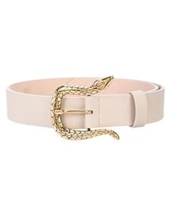 Ремень с пряжкой в виде змеи B-low the belt