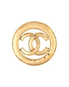 Брошь 1994 го года с логотипом CC Chanel pre-owned