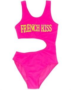 Купальник с принтом French Kiss Alberta ferretti kids