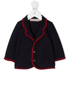 Пиджак с контрастной отделкой La stupenderia