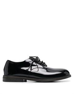 Броги на шнуровке с закругленным носком Marsèll