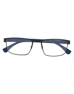 Очки в квадратной оправе Emporio armani