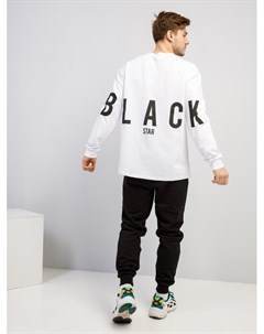 Лонгслив BASIC STREET Black star wear