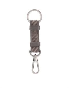 Кожаный брелок для ключей Ermenegildo zegna