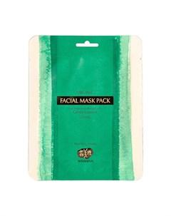Маска из водорослей Organic Real Kelp Sheet Facial Mask Pack Whamisa