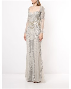 Платье с пайетками Zuhair murad