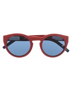 Солнцезащитные очки в круглой оправе Tommy jeans