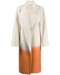 Пальто оверсайз в стиле колор блок Dusan
