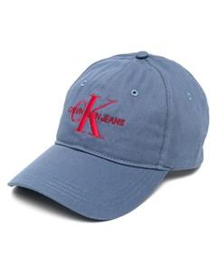 Бейсболка с вышитым логотипом Calvin klein jeans