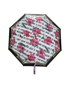 Зонт с надписью Moschino