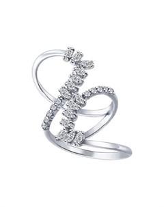 Кольцо из серебра с фианитами Sokolov
