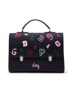 Рюкзак с логотипом Dolce & gabbana kids