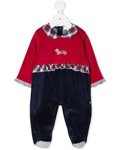Пижама с клетчатыми вставками Harmont & blaine junior