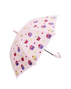 Зонт трость Капкейки меняющий цвет Mihi mihi