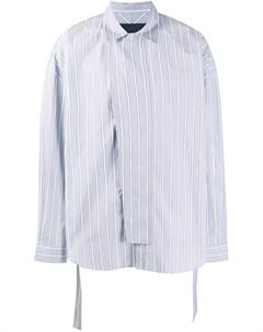 Полосатая рубашка с поясом Juun.j