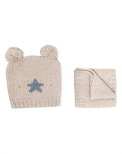 Комплект из шарфа и шапки La stupenderia