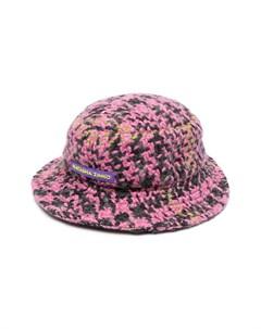 Вязаная шляпа с геометричным узором Natasha zinko kids