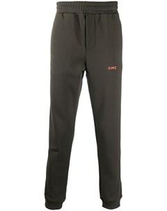 Спортивные брюки с принтом Side Omc