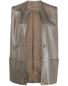 Жилет с вышивкой Versace pre-owned