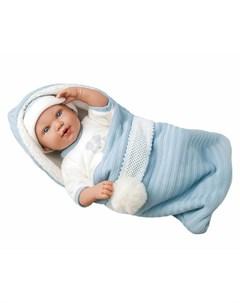Кукла Elegance Iria в голубом конверте 42 см в коробке Arias