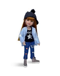 Кукла Стелла 37 см Ruby red